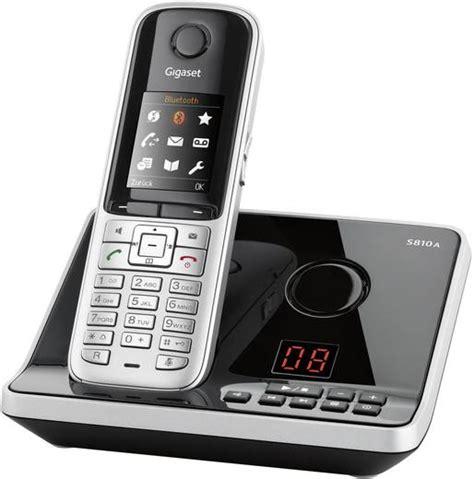 telefon mit headset schnurloses telefon analog gigaset s810a mit headset anrufbeantworter headsetanschluss
