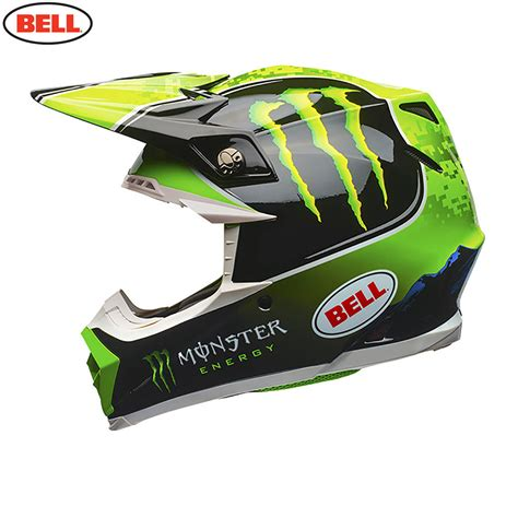 monster helmet motocross bell mx moto 9 helmet tomac monster replica