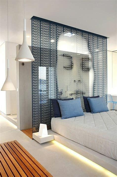 chambre à coucher originale la tête de lit originale en 46 photos
