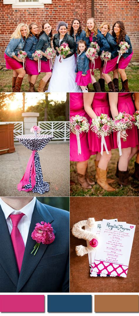 wedding colores wedding colors trends for 2017 pink yarrow color