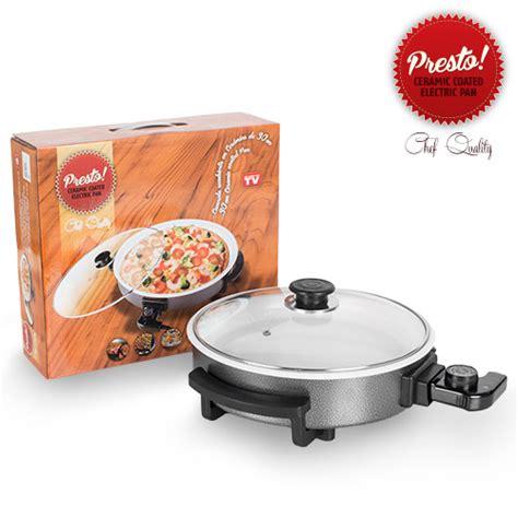 poele electrique cuisine pizza pan poêle électrique céramique presto pan 30 cm