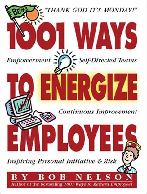ways  energize employees  book