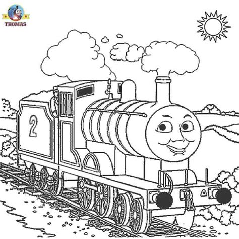 kids   coloring pages thomas train printable