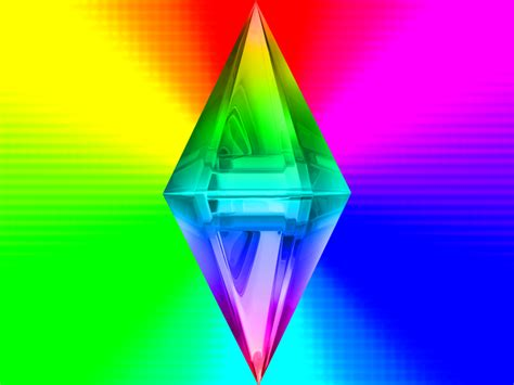 Rainbow-Plumbbob by Raibow-plumbbob on DeviantArt