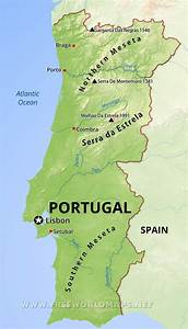 Portugal Geography Map