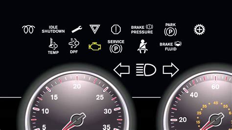 ic bus dashboard lights youtube