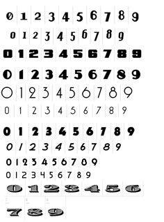 number jersey font - Recherche Google | Silhouette | Pinterest | Fonts, Jersey font and Stencils