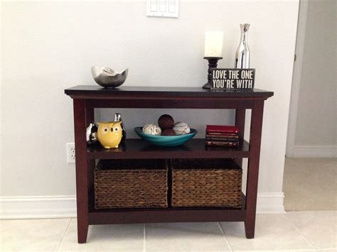 entryway table decor for the home