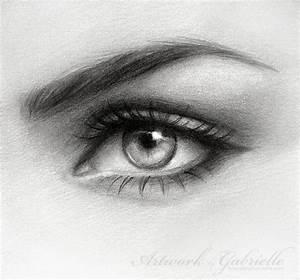.Eye Drawing. by gabbyd70 on DeviantArt
