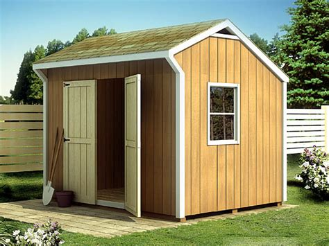 Saltbox Shed Plans 10x12 by Project Plan 90030 Salt Box Shed