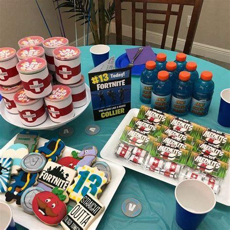 fortnite birthday fortnite birthday party ideas fortnite