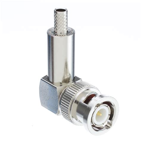 rg58 bnc right angle crimp connector