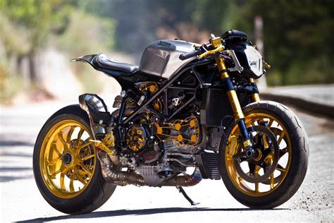 Ducati 1098 Cafe Racer By Alonzo Bodden