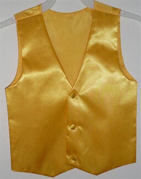 boys yellow vest