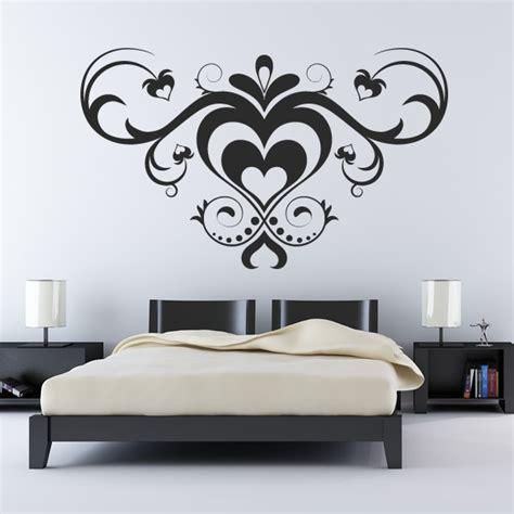 multiple love heart pattern wall art sticker wall decals transfers ebay