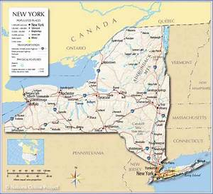 Map Of N Y State | Holiday Map Q | HolidayMapQ.com