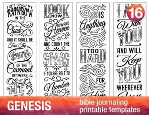 Free Printable Bible Journaling Templates