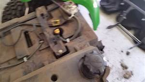 John Deere X585 Fuel Line Replacement