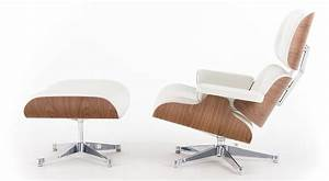 Eames Chair Weiß : vitra lounge chair white version von charles ray eames 1956 designerm bel von ~ Markanthonyermac.com Haus und Dekorationen