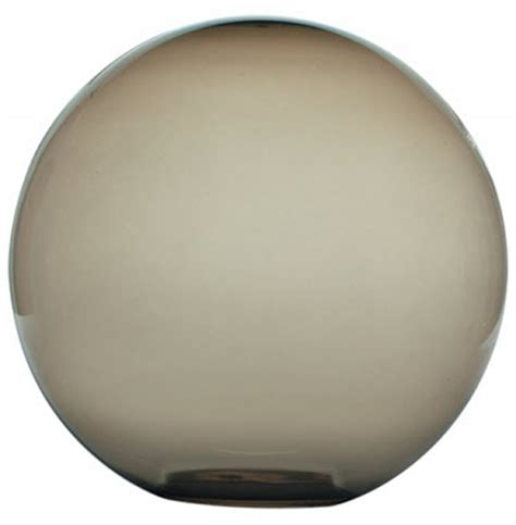 12 inch smoke plastic globes replacement light globe