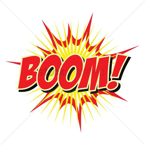 Comic bubble boom Vector Image - 1708139 | StockUnlimited