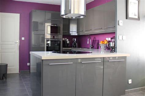 taille meuble cuisine cuisine équipée gris anthracite