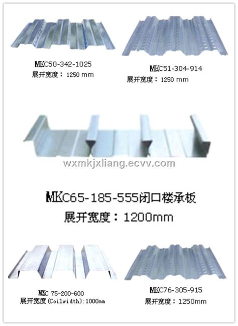 rolling whiteboard processing various type of steel metal floor deck
