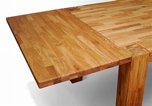 Pendelleuchte Für Langen Tisch : ansteckplatte 50cm f r tisch hugo 200x100 cm eiche ~ Michelbontemps.com Haus und Dekorationen