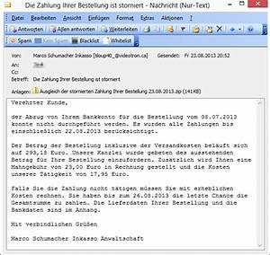 Inkasso Rechnung : trojaner warnung bei e mails mit einer rechnung im dateianhang mimikama ~ Themetempest.com Abrechnung