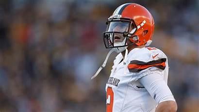 Browns Cleveland Background Football Manziel Player Johnny