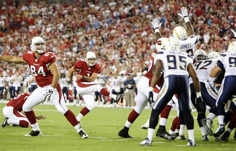 Neil Rackers In San Diego Chargers V Arizona Cardinals