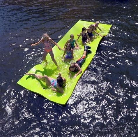 Floating Boat Pad by Floating Water Pad Floating Dock Floating Slip And Slide