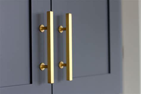 gold kitchen cabinet hardware kitchen reveal andrea porritt
