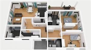 Bungalow Mit Garage Bauen : grundriss bungalow mit garage ~ Lizthompson.info Haus und Dekorationen