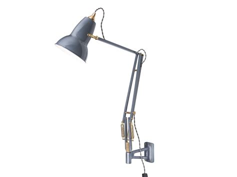 buy the anglepoise original 1227 brass wall mounted l