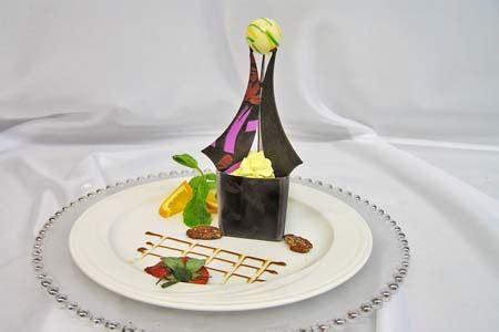 dessert  chef philippe coupe
