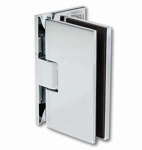 charniere fit 90 chrome brillant pour porte de douche With charniere porte douche verre