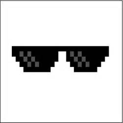 Deal with It Glasses Transparent