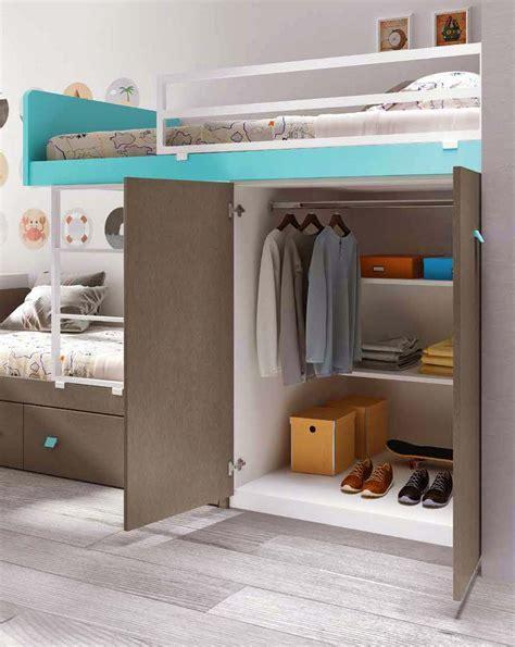 lit gigogne avec bureau lit superposé avec rangement lit gigogne glicerio so