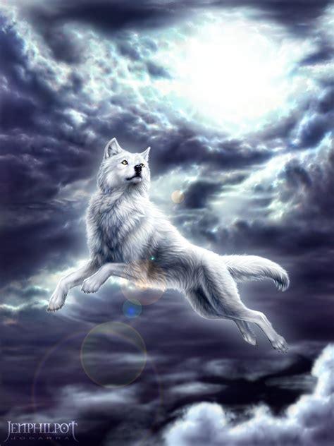 Spirit Animal Wallpaper - animals clouds flying spirit sunlight wallpaper