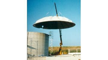 copertura a cupola coperture per vasche a cupola delta cover
