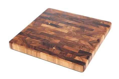 cutting boards ironwood gourmet acacia wood end grain 14 inch chef s cutting board ebay