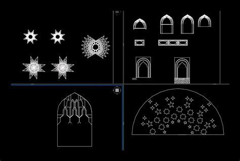islamic art  autocad  cad   kb