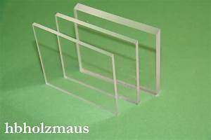 Plexiglas Acrylglas Unterschied : acrylglas klar 260 x 160 x 3 mm hbholzmaus kunststoffe ~ Eleganceandgraceweddings.com Haus und Dekorationen