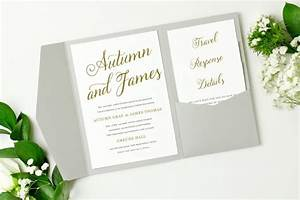 pocket wedding invitation template instant download With diy wedding invitations on mac