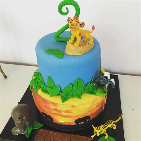 Best 25+ Lion Guard Birthday Cake Ideas On Pinterest