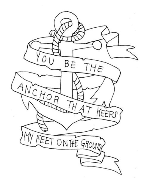 draw band lyrics coloring pages  tattoos
