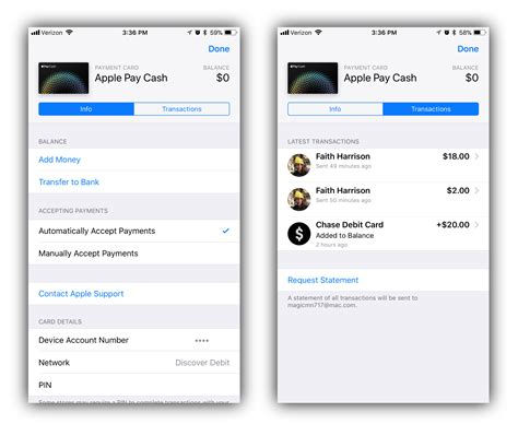 Pay credit card with cash. Video: hands-on with Apple Pay Cash