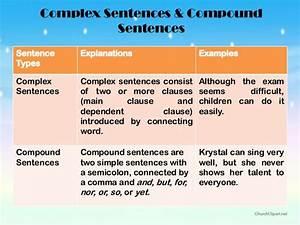 Ulva Complex Sentences
