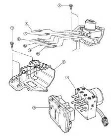 32 2000 Dodge Caravan Brake Lines Diagram